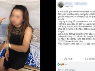 """Sắp đẻ đến nơi, mẹ bầu này còn phải vác bụng đi hơn 100km đánh ghen, bắt quả tang chồng """"tòm tem"""" với gái lạ"""