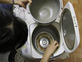Bỏ qua thứ này khi vệ sinh nồi cơm điện, đừng hỏi vì sao cơm ăn không ngon, tiền điện tăng gấp đôi