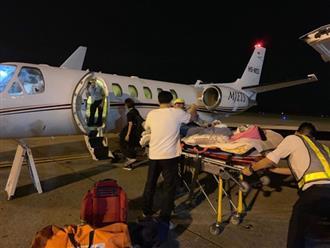 Việt kiều bị tạt axít ở Quảng Ngãi ra nước ngoài chữa trị bằng máy bay riêng