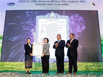 Vinamilk liên doanh với doanh nghiệp Lào và Nhật Bản, khởi công xây dựng tổ hợp resort bò sữa organic 5.000ha tại Lào
