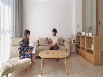 Vợ chồng trẻ cải tạo căn hộ để chào đón thành viên mới