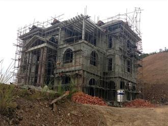 """Vụ bạt núi xây biệt thự khủng trái phép ở Thanh Hóa: Công Thanh """"phớt lờ"""" các quyết định xử phạt"""