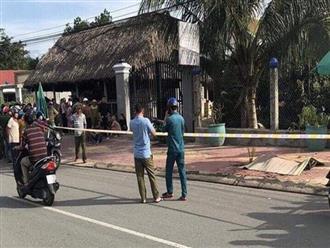 Vụ chủ quán cà phê bị sát hại: Nạn nhân ôm cổ đầy máu chạy ra đường kêu cứu