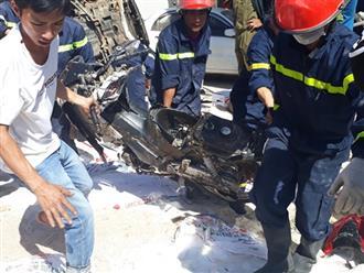 Hiện trường như đánh bom vụ tai nạn giao thông kinh hoàng ở Lâm Đồng