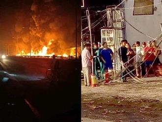 Vụ xe bồn chở xăng bốc cháy gây tai nạn thảm khốc: Gia đình 4 người cùng vùi mình trong biển lửa lúc rạng sáng