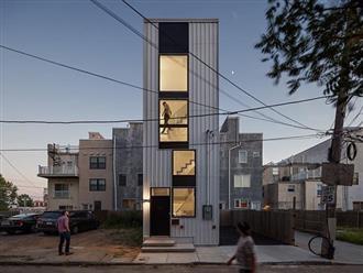 """Xây nhà như """"tòa tháp tí hon"""" trên nền đất hẹp"""