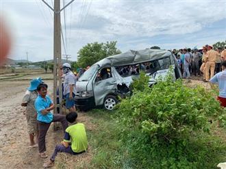 Xe khách bị tàu hỏa tông ở Bình Thuận: Hai chị em tử vong khi trên đường vào thăm bà ngoại đang nằm viện