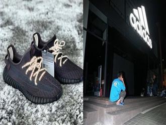 Xúc động cảnh người cha nghèo xếp hàng suốt 3 đêm mua giày để thưởng cho con