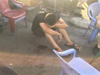 Xót cảnh cháu trai gục đầu khóc nức nở bên thi thể dì bị container cán chết trên đường về quê