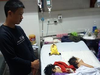 Xót xa cảnh 2 con gái oằn mình trên giường bệnh sau vụ tai nạn mẹ ra đi mãi mãi