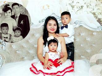 """Xót xa câu chuyện vợ trẻ sinh con khi chồng đã mất và bức ảnh ghép """"khi bố về nhà"""" khiến ai cũng phải rơi lệ"""