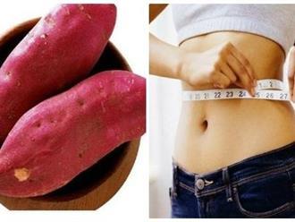 Cách ăn khoai lang để giảm cân thần kì