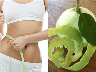 Bí quyết ít ai biết với cách nấu vỏ bưởi uống giảm cân hiệu quả sau 1 tuần