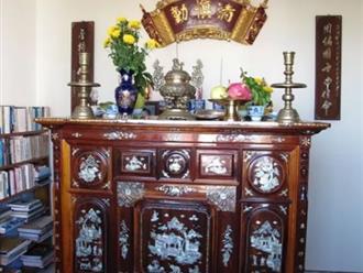 Cách sắp xếp bát hương trên bàn thờ đúng và chuẩn nhất