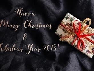 Bộ sưu tập lời chúc Giáng sinh và Năm mới 2018 dành tặng người thân