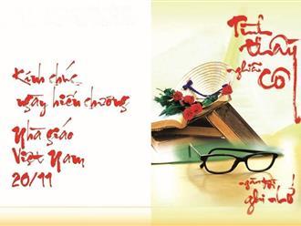 Gợi ý bài phát biểu ngày 20/11 của học sinh hay và ý nghĩa nhất dành tặng thầy cô