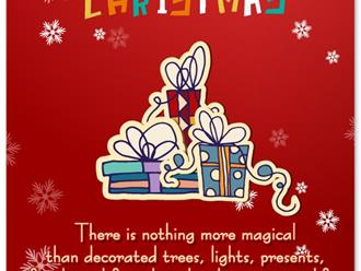 Tuyển tập lời chúc Giáng sinh cho bạn bè bằng tiếng Anh