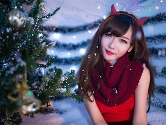 Bí quyết trang điểm mùa Giáng sinh đẹp khó cưỡng