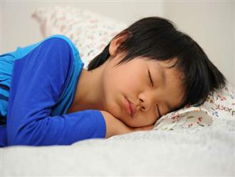 Bật mí cách giải quyết tình trạng trẻ 4 tuổi ngủ hay giật mình