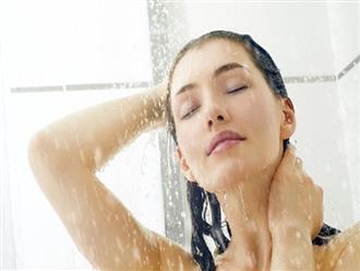 Tắm đúng cách trong ngày nóng