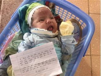 Bé gái sơ sinh bụ bẫm bị bỏ rơi ở chân đèo Ông Đống kèm bức thư tay: 'Mẹ xin lỗi con yêu... mong trời phật phù hộ con'