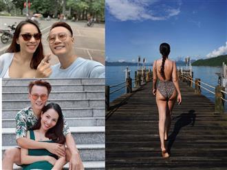 Bỏng mắt trước màn 'chặt chém' bikini của vợ, Hoàng Bách để lại bình luận khiến dân tình ngã ngửa