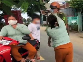 Cay cú vì chồng bị lập biên bản vi phạm chỉ thị 16, vợ chửi bới rồi 'hùng hổ' xông vào đánh công an