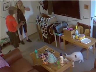 Đi vắng nhà vài ngày nên lắp camera chống trộm, cô gái 'tá hoả' khi phát hiện lão chủ nhà đột nhập phòng ngủ và có hành động biến thái