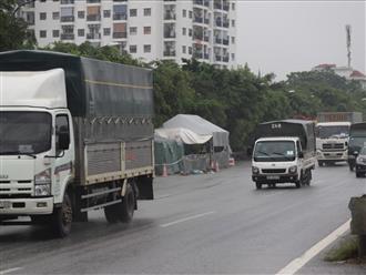 Hà Nội dừng kiểm tra phương tiện và người tại 22 chốt ra vào thành phố
