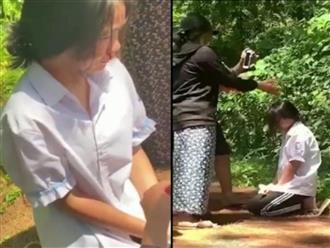 Hà Tĩnh: Công an vào cuộc xác minh vụ việc nữ sinh lớp 7 bị bắt quỳ gối, đánh chảy máu mũi