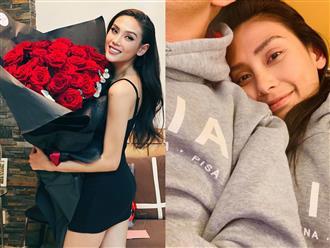 Lộ ảnh chồng sắp cưới kín tiếng ở Mỹ của siêu mẫu Võ Hoàng Yến, khiến cô bất chấp dịch bay nửa vòng trái đất sang thăm