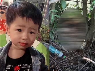 Hình ảnh hiện trường nơi tìm thấy thi thể bé trai 2 tuổi mất tích ở Bình Dương, cách nhà 600m, rất rậm rạp, khó đi