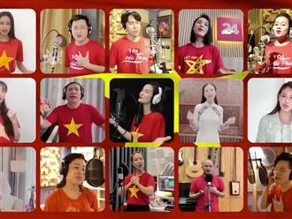 Hơn 50 nghệ sĩ đình đám hòa giọng trong MV 'Sức mạnh Việt Nam', cùng nắm chặt tay nhau chống dịch Covid-19