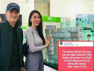 Hóng: Netizen 'sốt hết cả ruột' trước thông tin vợ chồng Thuỷ Tiên đã hoàn tất thủ tục sao kê với số tiền hơn 177 tỷ đồng