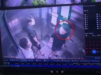 Phẫn nộ: Nam thanh niên 'vô tư' khạc nhổ bừa bãi, lấy khẩu trang lau miệng rồi vứt lại trong thang máy chung cư