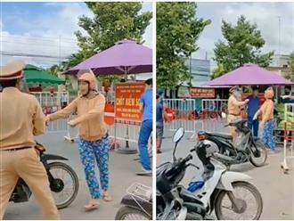 Thông tin bất ngờ về chị gái 'quần hoa' không mang khẩu trang chống đối lực lượng ở chốt kiểm soát Tây Ninh
