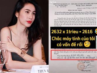 Thuỷ Tiên 'nhá hàng' loạt giấy tờ xác nhận từ thiện nhưng netizen lại 'chỉ thẳng' nhiều chi tiết không minh bạch, chính chủ giải thích thế nào?