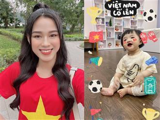Trước thềm Việt Nam - UAE, dàn sao Việt cổ vũ 200% tinh thần, chiếm spotlight nhất là 'cổ động viên nhí' nhà Đông Nhi