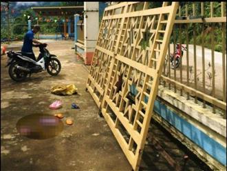 Vụ bé mầm non tử vong do cổng trường sập đổ ở Quảng Nam: 'Cổng rất chắc chắn, không bị hỏng'