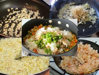 Bật mí cách làm món cơm chiên cá mặn chuẩn khẩu vị nhà hàng hạng sang