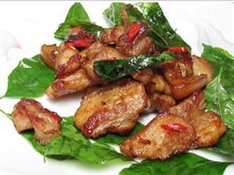 Thịt ba chỉ nướng lá chanh kiểu này thơm ngon bá cháy, ăn bao nhiêu cũng hết