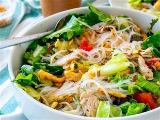 Một ngày chán cơm hãy làm món bún trộn kiểu Thái ai ăn cũng mê