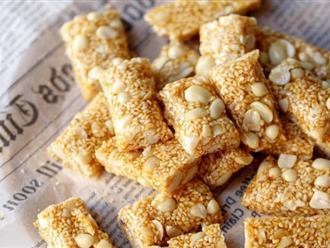 Tìm lại hương vị tuổi thơ với món kẹo lạc thơm bùi hấp dẫn