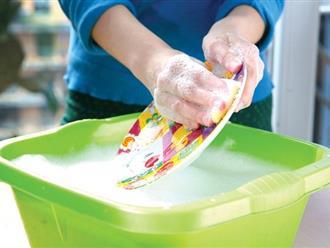 """Vạch trần những """"lỗi"""" rửa chén bát không sạch và cách khắc phục"""