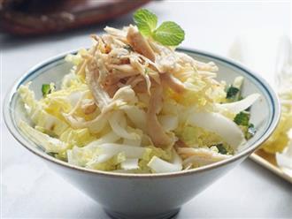 Có món salad ngon giòn xuất sắc, tôi ăn giảm cân thật dễ dàng và hiệu quả