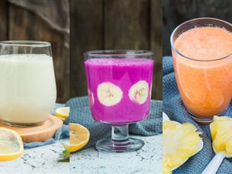 3 món sinh tố mát ngọt dễ làm cho ngày nắng