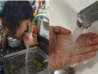 3 giây chỉ bằng mắt thường nhận biết nguồn nước đang dùng rất bẩn, nhiễm đầy hóa chất