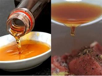 3 sai lầm phổ biến khi dùng nước mắm ảnh hưởng đến sức khỏe, lại khiến món ăn mất ngon