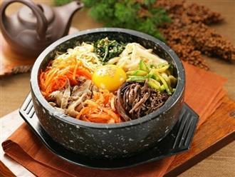 30 phút xong ngay cơm trộn Bibimbap Hàn Quốc ngon đúng kiểu