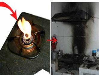 4 dấu hiệu cảnh báo bếp gas giống 'quả bom hẹn giờ', gọi thợ ngay kẻo cả nhà gánh họa